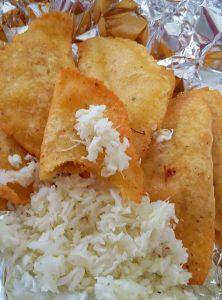 panades local belizean food